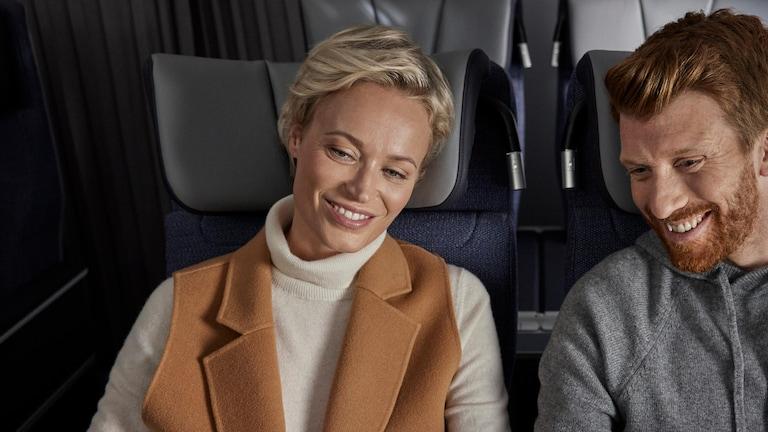 Business-class social planes